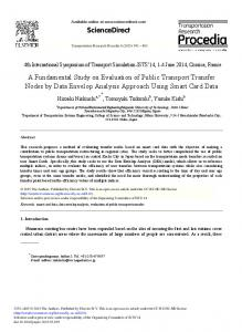 ScienceDirect A Fundamental Study on Evaluation of ...