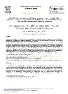 ScienceDirect Development of a Mobile Mapping ...