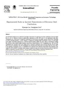 ScienceDirect Experimental Study on Spectral ...