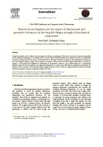 ScienceDirect Numerical investigation into the impact ...