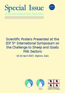 Scientific Posters Presented at the IDF 5th ... - UK - IDF Website