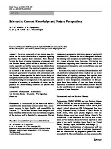 Sclerostin: Current Knowledge and Future Perspectives - Springer Link