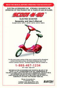 Scoot-N-Go Owners Manual