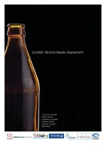 Scottish Alcohol Needs Assessment - Royal College of Psychiatrists