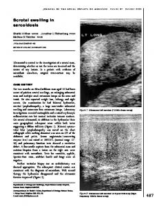 Scrotal swelling in sarcoidosis - SAGE Journals