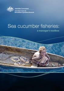 Sea cucumber fisheries - ACIAR