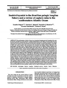 Seabird bycatch in the Brazilian pelagic longline fishery and a review ...