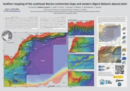 Seafloor mapping of the southeast Iberian continental slope ... - GEBCO