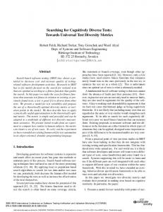 Searching for Cognitively Diverse Tests: Towards Universal Test ...