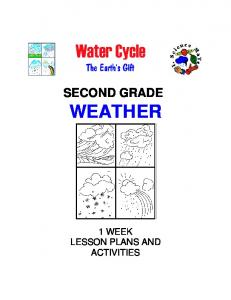 Second grade weather