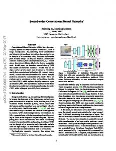 Second-order Convolutional Neural Networks