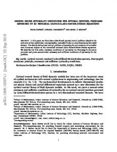 Second Order Optimality Conditions for Optimal Control Problems