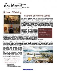 Secrets of Painting Loose