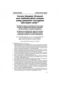 Secure Dynamic ID-based user authentication ...