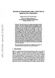Security of Authentication with a Fixed Key in Quantum Key Distribution