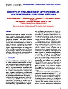 security of wireless sensor network enabled health monitoring