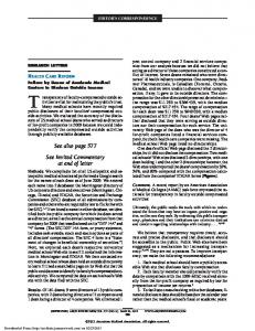 See also page 577 See Invited Commentary at end of