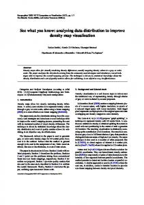 See what you know: analyzing data distribution to ... - Semantic Scholar