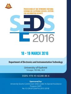 SEEDS-2015 @University of Kashmir, Srinaga