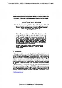 Seeking and Scaling Model for Designing Technology that Supports ...