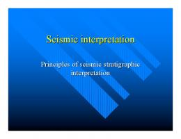 Borehole seismic data processing and interpretation: New