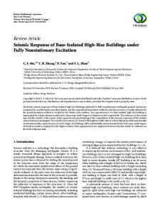 Seismic Response of Base-Isolated High-Rise Buildings under Fully ...
