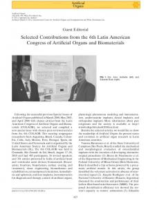 Selected Contributions from the 6th Latin American ...