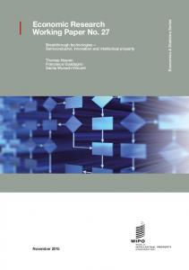 Semiconductor, innovation and intellectual property - WIPO