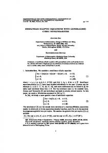 Semilinear elliptic equations with generalized cubic ... - Junping Shi