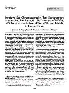 Sensitive Gas Chromatography-Mass Spectrometry Method for ...
