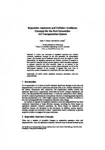 Separation Assurance and Collision Avoidance ... - Semantic Scholar