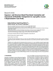 Sequence-and Structure-Based Functional Annotation and