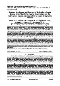 Sequence Stratigraphy and Structure of the Southern ...