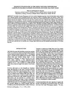 Sequence stratigraphy of the Middle Devonian ... - Springer Link