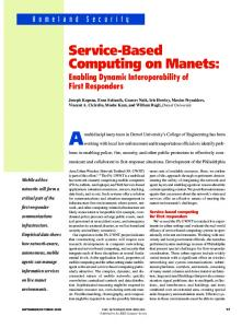 Service-Based Computing on Manets - IEEE Xplore
