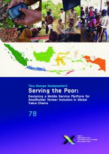 Serving the Poor - at www.repository.tudelft.nl.