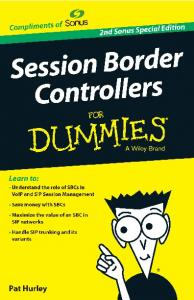Session Border Controllers For Dummies 2nd Sonus Special Edition