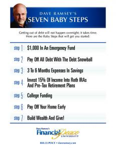 SEVEN BABY STEPS