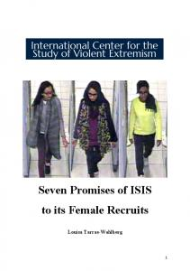 Seven Promises of ISIS to its Female Recruits