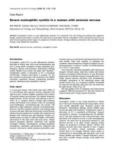 Severe eosinophilic cystitis in a woman with ... - Wiley Online Library