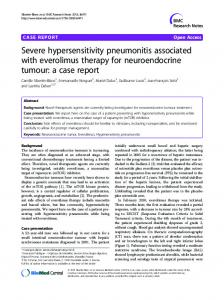 Severe hypersensitivity pneumonitis associated ... - Semantic Scholar