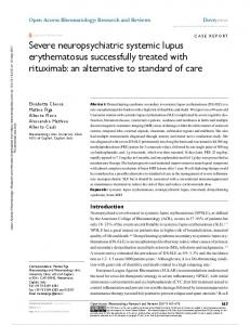 Severe neuropsychiatric systemic lupus
