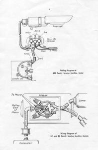 Sewing Machine Wiring Diagrams