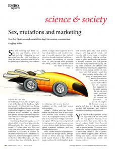 Sex, mutations and marketing - Wiley Online Library