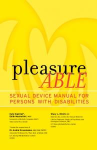 SEXUAL DEVICE MANUAL FOR PERSONS WITH DISABILITIES