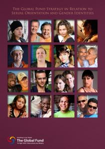 Sexual Orientation and Gender Identities - Global Fund