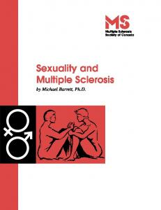 Sexuality and Multiple Sclerosis - CiteSeerX