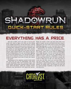 Shadowrun, Fifth Edition Quick-Start Rules