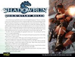 Shadowrun Quick-Start Rules [Gamemaster Edition] - Shadowrun.fr