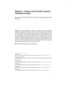 ShapeOp - A Robust and Extensible Geometric ... - LGG, EPFL